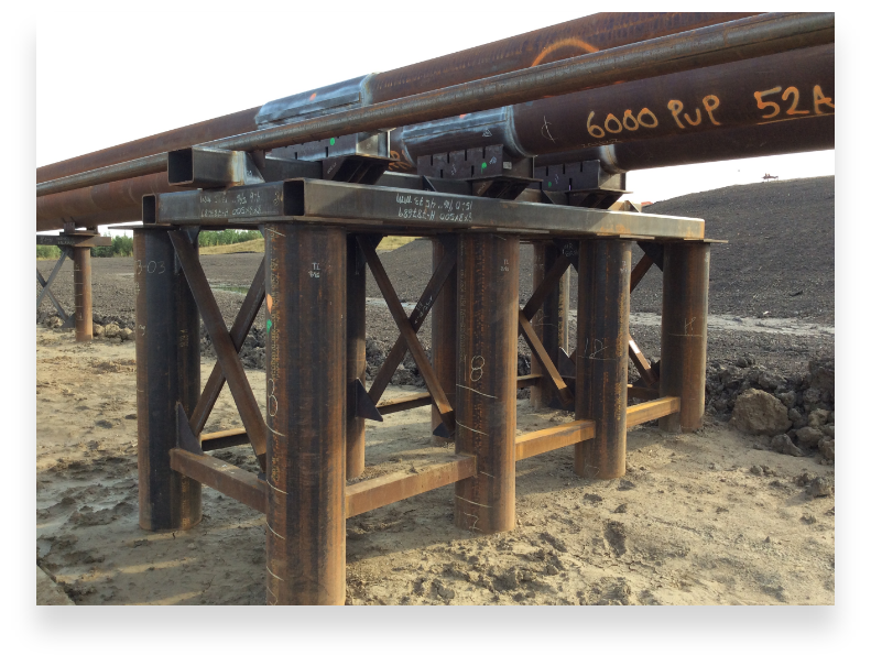 steam pipeline construction canada