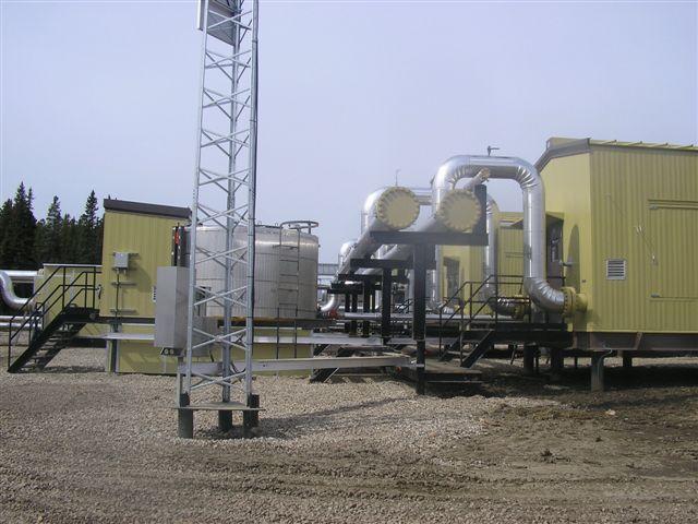 pipeline facility construction canada