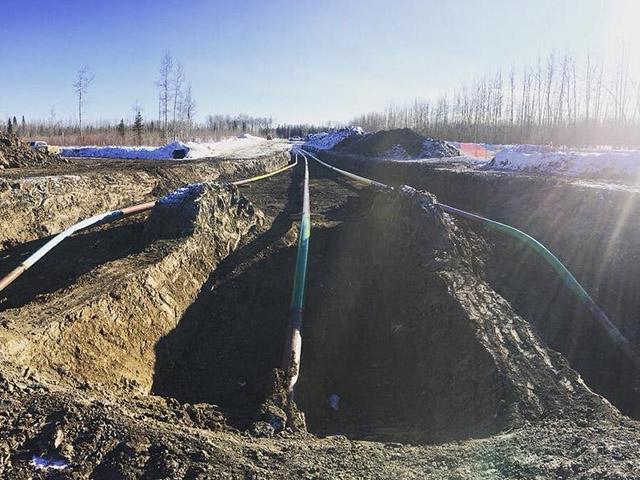 pipeline construction canada